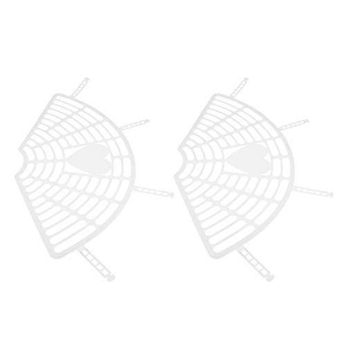 #N/A 1 par de plástico para asiento trasero de bicicleta, protección para faldas, patas