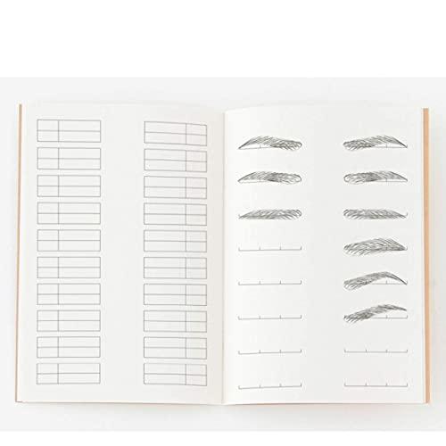 Chengyida - Cuaderno de notas (tamaño A4), diseño profesional de maquillaje y artista