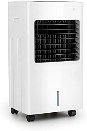 Oneconcept Freeze Me evaporativo • 65W • 400 m³/h • 3 Potencias • Capacidad de 8 litros • Función Nature Wind con 3 velocidades • Pantalla con Sensor • Dirección Manual o automática de la Corriente