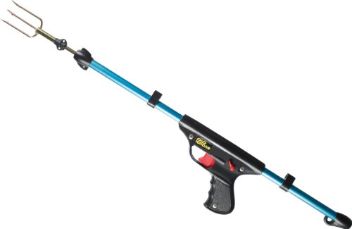 SEAC Polpone, Fucile a Molla con Fiocina per Pesca Sub Unisex Adulto, Azzurro, 60 cm