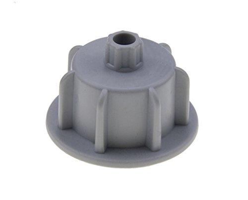 Brunoplast NIVIFIX 150 St. wiederverwendbare Zughauben grau für Fliesenstärke 12-20 mm für Fliesen Platten Nivelliersystem Verlegen von Wand- und Boden-Fliesen, Verlegehilfe System aus Kunststoff