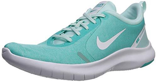 Nike Wmns Flex Experience RN 8, Zapatillas de Atletismo para Mujer, Multicolor (Teal Tint/White/Hyper Jade 000), 35.5 EU