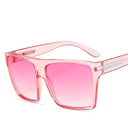 ShZyywrl Gafas De Sol Gafas De Sol Cuadradas De Gran Tamaño para Mujer Gafas De Sol para Mujer/Hombre Gafas De Diseñador De Lujo Gafas Mu