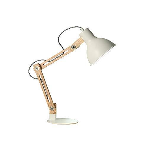 Lampada da tavolo semplice e moderna lampada da studio lampada da ufficio pieghevole lampada da lavoro da ufficio lampada da tavolo in legno massello lampada da tavolo regolabile