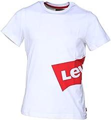Levi's Camiseta de Manga Corta Blanco para Niños