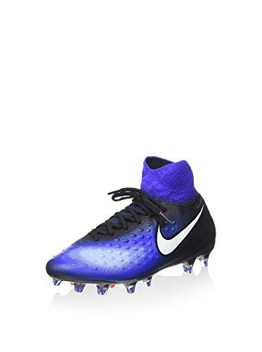 Nike Herren Jr Magista Obra Ii Fg Fußballschuhe, blau/schwarz, 37.5 EU