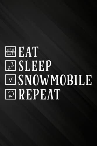 Vintage Retro Eat Sleep Sled Repeat Snowmobile Sledding Saying Password book: Personal internet address and password logbook,Internet Website Address ... Password Organizer Journal Notebook