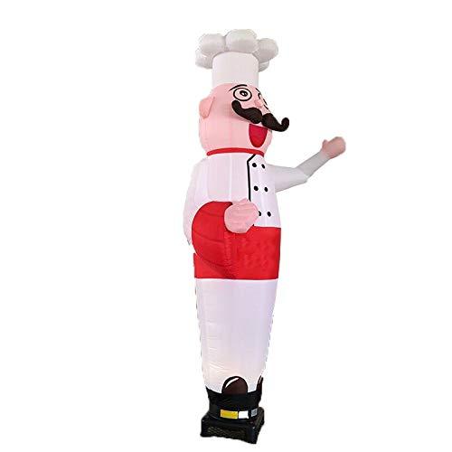 OttOen ZPK3M-1 10ft Lufttänzer, Werbung aufblasbaren Schlauches winkt Arm Puppen Weihnachten Halloween Karneval Partydekoration, Ladendekoration Werbung (kein Fön) (Color : A1)