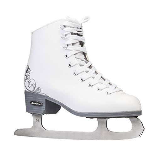 Rollerblade Bladerunner Ice by Allure Mädchen Eiskunstlauf Weiß Schlittschuhe, Mädchen, 0G177300101, weiß, Junior Size 8J