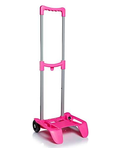 Seven Be Box Plus Rosa - Carrello Porta Zaino Trolley Scuola Rosa - Be Box PLUS, taglia unica