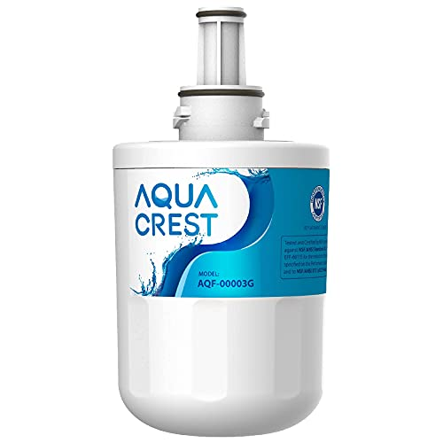 AQUA CREST AQF-00003G-1 AQF-DA29-00003G Water Filter, Carbon Block, White