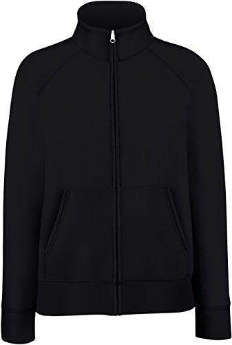 Fruit of the Loom - Lady-Fit Sweat Jacket - Modell 2013 / Black, XXL XXL,Black