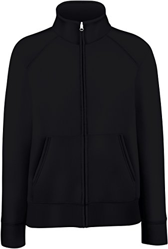 Lady-Fit Sweatjacke L / 14,Black