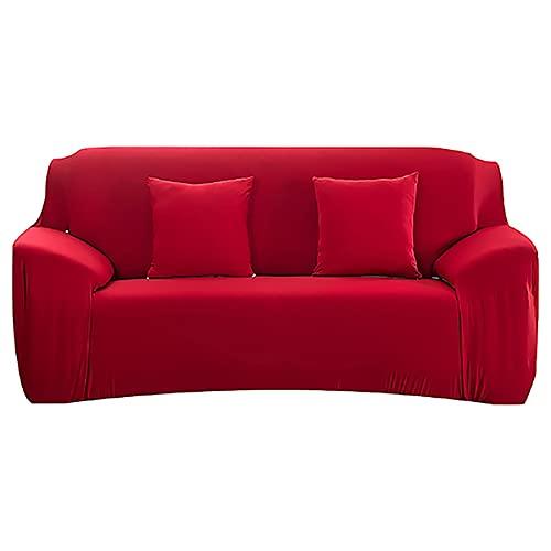 ASCV Funda de sofá para el hogar para Sala de Estar Fundas de sofá elásticas Envoltura Ajustada Funda de sofá seccional de tamaño estándar con Todo Incluido A8 4 plazas