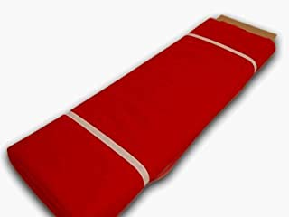 BBCrafts BB Crafts Red Polyester Tulle Fabric Bolt 54 inch 40Yards, 54