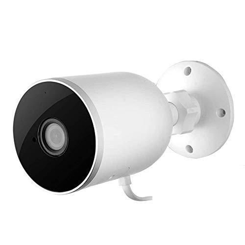 Cámara Para Exteriores 1080p Cámara De Vigilancia De Seguridad Para El Hogar Cámara IP Wifi Cámara Tipo Bala IP66 Impermeable Con AI Detección De Movimiento De Sonido Humano,alarma, C(Size:Camera+64G)