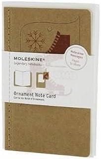 Moleskine Ornament Note Cards - Ice Skates