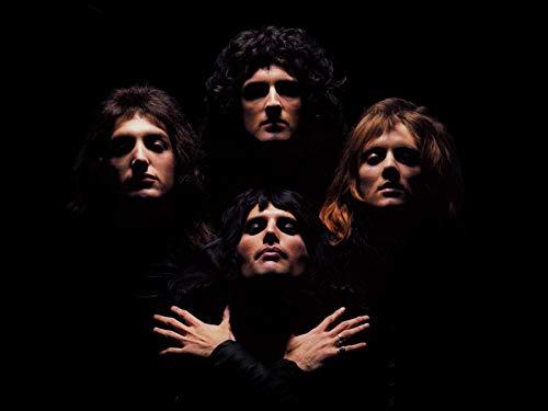 Queen Classic Rock Band Póster tamaño estándar 18 x 24 pulgadas