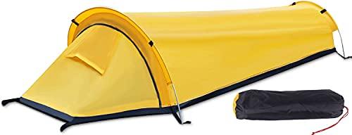 Jevina Zelt 1 Person,Biwakzelt Ultraleicht Zelt Wanderzelt einmannzelt,EIN-Mann-Zelt Trekkingzelt