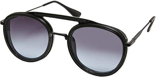 Urban Classics Sunglasses Ibiza Gafas, negro/negro, Talla única Unisex Adulto