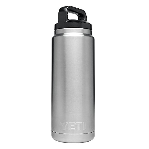 YETI Rambler 26 oz Bottle, Vacuum Insulated, Stainless Steel with TripleHaul Cap, Stainless