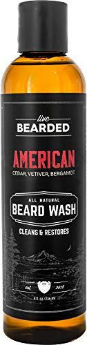 Live Bearded: Beard Wash - American…