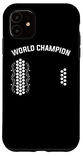 iPhone 11 Air Accordion World Champion   Funny Music Gift Idea Case