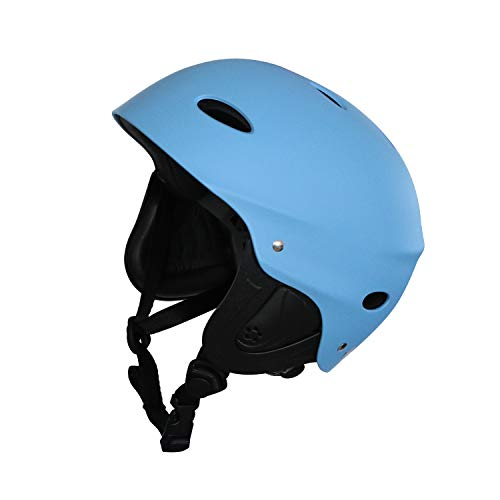 Vihir Adult Water Sports Helmet with Ears - Adjustable Multi Bike Skating Skate Skateboard Scooter Surf Snow Men Women Dial Helmet