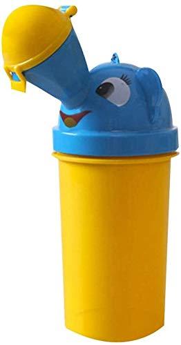 NTUOO Orinarios portátiles para niños para el coche con embudos de orina portátil para hombres y mujeres, para bebés y bebés, a prueba de fugas, orinario de viaje, botella de orina (color: niño)