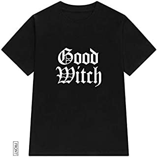 Good Witch Bad Witch Women Tshirt Cotton Casual Funny T Shirt For Lady Girl Top Tee Hipster Drop Ship