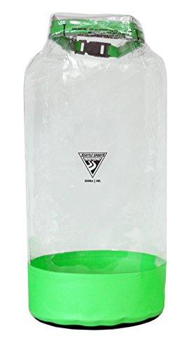 Seattle Sports Clear Dry Bag 5 Liter 016048 Glacier Sac étanche Transparent Taille XS/5 l Mixte, Citron Vert