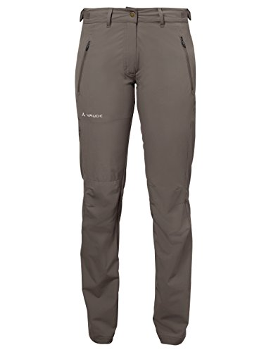 VAUDE Damen Hose Women's Farley Stretch Pants II, abzippbare Wanderhose, coconut, 34/Long, 045765096340