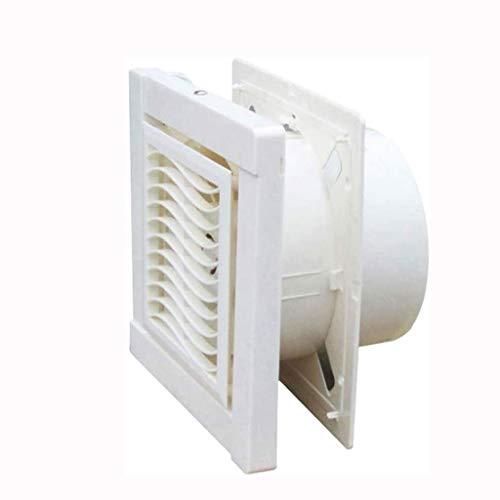STRAW Ventilador de Escape de Ventana , Ventilador de ventilación de baño Fuerte de 8 Pulgadas Serie Ventilador de Escape de instalación del Lado de la habitación de una Velocidad