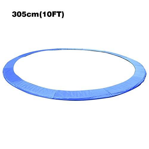 Goodde Trampoline Replacement Safety Pad Spring Cover - 10ft 12ft - Sangles de Fixation, résistant aux UV et résistant à l'eau Universal Trampoline Mat Edge Protector