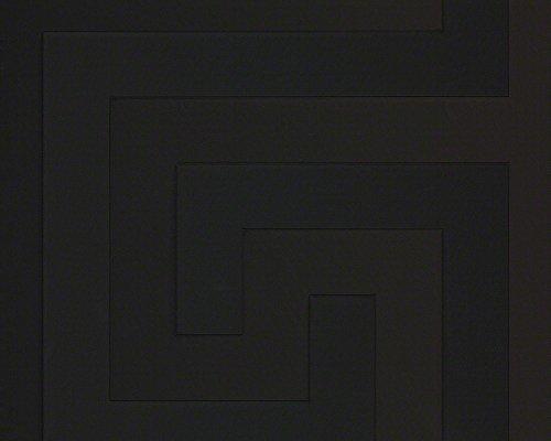 A.S. Creation 93523-4 Greek Tapete, schwarz, 10,05 m x 0,70 m