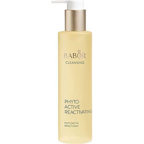 BABOR CLEANSING Phytoactive Reactivating für müde Haut, Gesichtsreiniger zur Anwendung mit Hy-Öl, Mit Süßmandel-Blüten, Vegane Formel, 1 x 100 ml