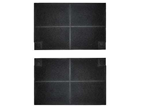 PRCF37 - 2 filtri al carbone attivo, simili a EFF55, 50232980008, KF7509, MCFE16, 9029800621,9029794105