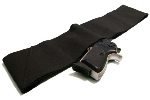 Four Way Belly Band Gun Holster - Size Medium 33' - 38'