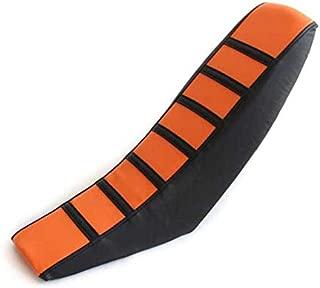 Gripper Soft Seat Cover For KTM 65 85 105 125 144 150 200 250 300 XC EXC SX SXF (Orange)