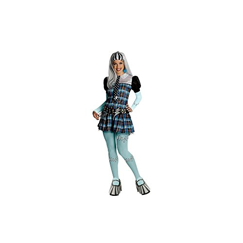 Rubies Costumes Monster High Frankie Stein Deluxe Adult Costume Moyen
