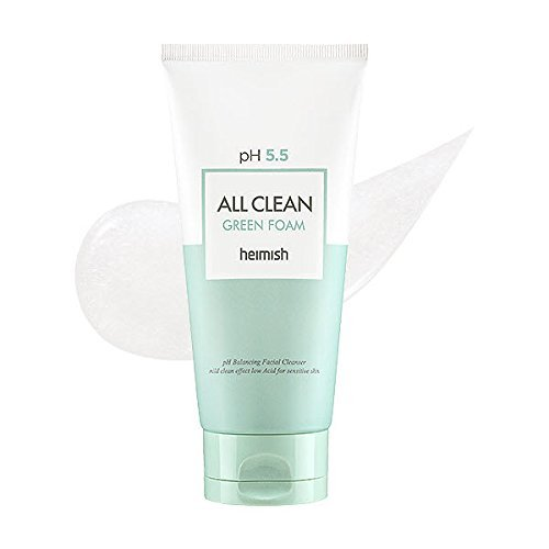 Heimish pH 5.5 All Clean Green Foam - Espuma limpiadora de 150 ml