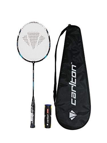 Carlton Série de Raquettes de Badminton Pro + Housse et 6 navettes (Pro Power)