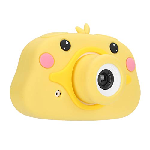 Cámara para niños Regalo de cumpleaños para niños, 20 MP Cámara digital para niños Juguete Pantalla a color de 2.0 pulgadas Cámara de grabación de video en forma de pato, Cámara para niños Selfie a pr