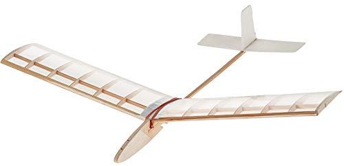 matches21 Wind Flyer 2 Segelflieger Flieger 735 mm Flugzeug Bausatz für Kinder Werkset Bastelset ab 13 Jahren