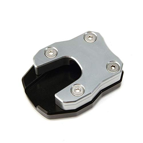 Cubierta de la motocicleta y molduras ADV150 motocicleta Ampliación pata de cabra lateral del soporte de extensión de la placa del cojín en forma for HONDA ADV150 ADV 150 2019-2020 Accesorios de motos