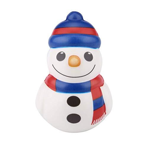 Kawaii Schneemann Squeeze Spielzeug Anti-Stress Spielzeug Weihnachts Nette Sammlung Geschenk Dekor Antistress Spielzeug für Jungen Mädchen