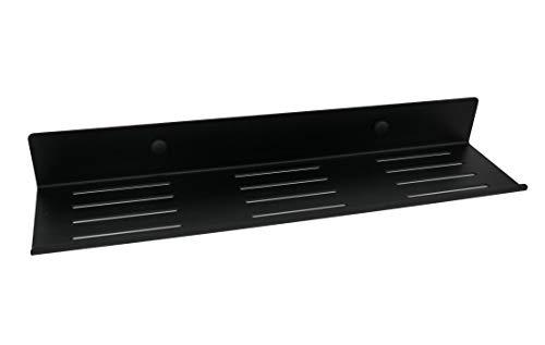 NX®Doucheplank, zelfklevend, badplank, zonder boren, wandplank, badkamer, douchemand zwart