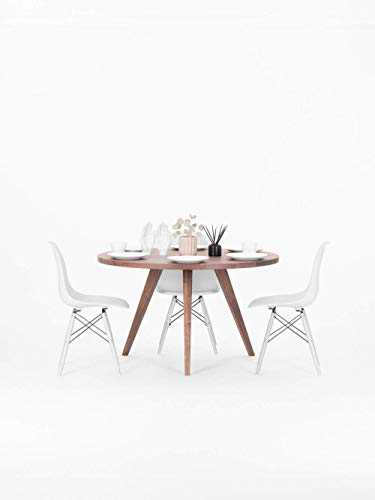 Esstische aus Nussbaum, Tisch im Skandinavischen Design