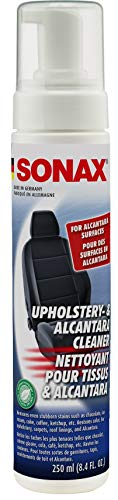 Sonax (206141) Upholstery and Alcantara Cleaner - 8.45 fl. oz., 250 Milliliter