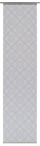 GARDINIA Flächenvorhang (1 Stück), Schiebegardine, Blickdicht, Flächenvorhang Stoff Digitaldruck Vintage Floral, 60 x 245 cm (BxH)
